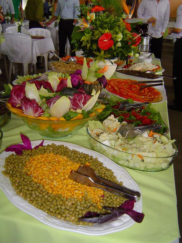 cursos de decoracao de interiores no porto:Mesa De Saladas Buffet Churrasco